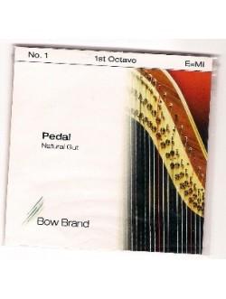 Bow Brand pedál hárfa 1.oktáv D bélhúr