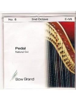 Bow Brand pedál hárfa 2.oktáv E bélhúr
