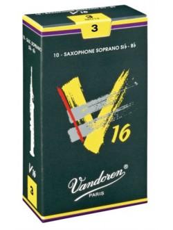 Vandoren V16 szoprán szaxofon nád 2,5